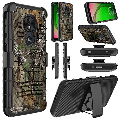 Moto G7 Optimo Protective Rugged Case by Elegant Choise
