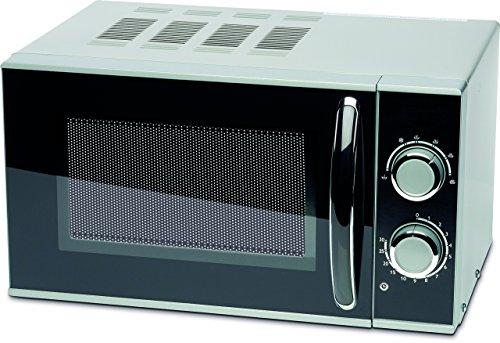 MEDION MICROMAXX (MD 15644) Mikrowelle 700 Watt, 7 Liter Garinnenraum, 6 Mikrowellen-Leistungsstufen, 30 min. Zeitschaltuhr, Auftaufunktion, grau