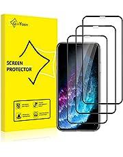 GiiYoon-3 Stuks Screen Protector Compatibel met iPhone 11 Pro/XS/X,9H Gehard Glas Schermbeschermer, [Volledige Dekking] [Eenvoudige installatie] [Krasbestendig][Geen Bubbels] Beschermfolie