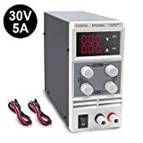 DC Power Supply Variable(0-30 V 0-5 A), Eventek KPS305D Adjustable Switching Regulated Power Supply Digital, with Alligator Leads US Power Cord