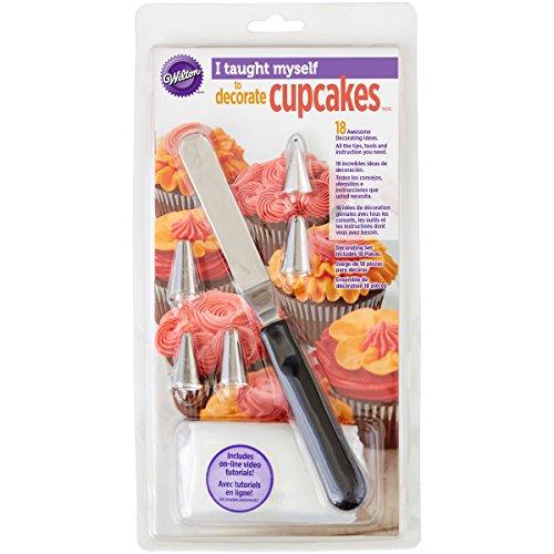 "Wilton ""I Taught Myself To Decorate Cupcakes"" Cupcake Decorating Book Set - How To Decorate Cupcakes"