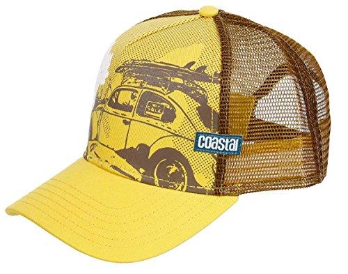 COASTAL - Beetle (sun yellow) - High Fitted Trucker Cap