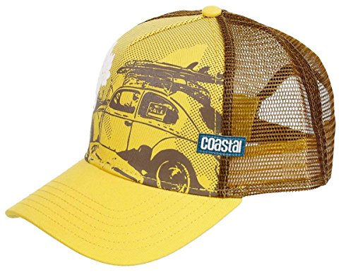 COASTAL - Beetle (sun yellow) - High Fitted Trucker Cap