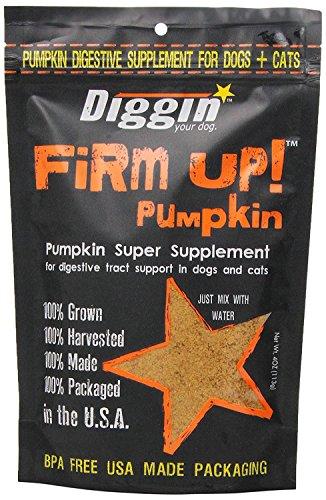 Diggin' Your Dog Firm Up! Pumpkin Super Supplement
