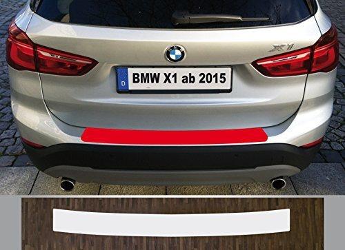 is-tuning passgenau für ***BMW X1*** ab 2015, Lackschutzfolie Ladekantenschutz transparent