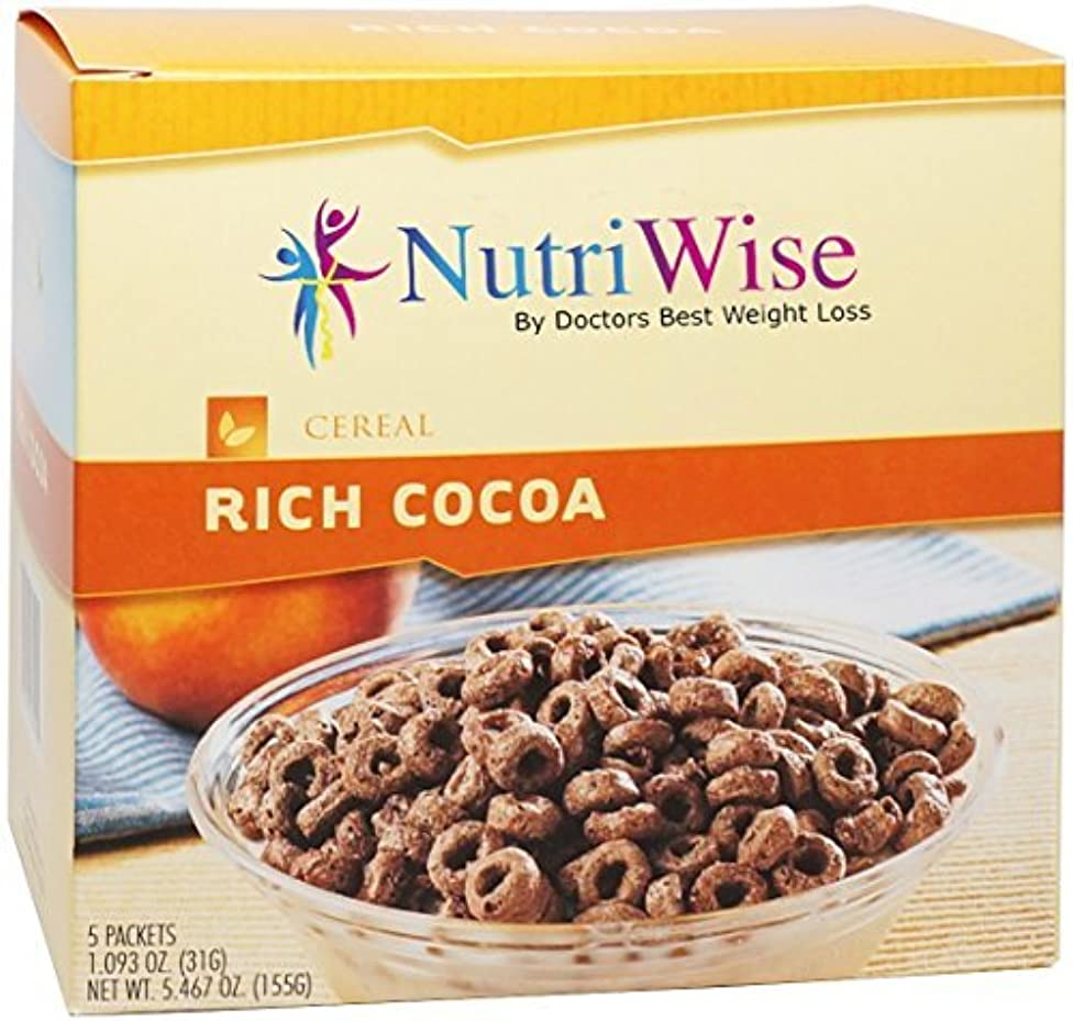 NutriWise - Rich Cocoa Protein Diet Cereal (5/Box) by NutriWise