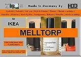 Colour de la barra de laca de pin touch-up-pen for IKEA Melltorp - Colour blanco