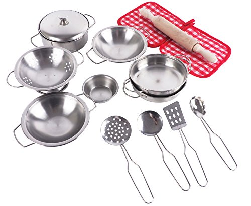 Pretend Toys - Little Chef Stainless, Cocina Pretend Toys
