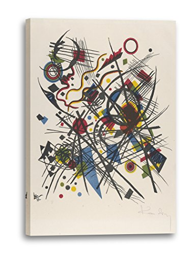 Printed Paintings Impresión sobre Lienzo (40x60cm): Wassily Kandinsky - Litografía para la cuarta