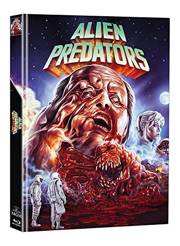 Alien Predators - Mediabook - Limitiert auf 111 Stück - Cover A (+ Bonus-DVD mit weiterem Horrorfilm) [Blu-ray]