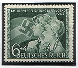 RARE ORIGINAL WW2 NAZI HITLER YOUTH STAMP (MINT NEVER HINGED/FULLY GUMMED!))