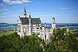 Pixblick - Schloss Neuschwanstein - Hochwertiges Wandbild -