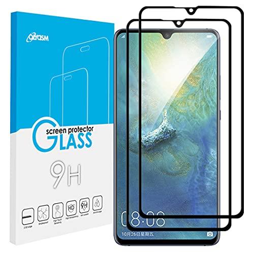 Olycism Kompatibel für Huawei Mate 20X 5G Schutzfolien (2 Stück) Displayschutzfolie Panzerglas 0.3mm 2.5D Abgerundete Kanten 9H Härtegrad Hohe Transparenz Kratzfest Blasenfrei Gehärtetem Glas