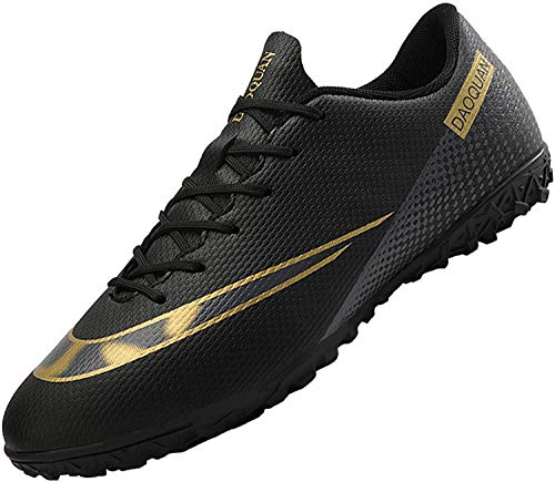 Men's Football Boots Turf Shoes Non-Slip Outdoor Training Professional Unisex Boots Soccer Sneakers Running Sneaker Black