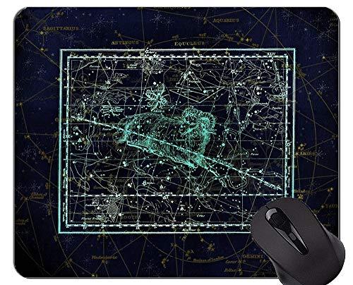 Mauspad Anti-Rutsch, Sternbild Sternbild Sternzeichen Himmel Themen aus Gummi Mauspad