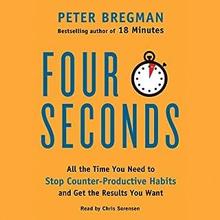 Four Seconds audiobook cover art
