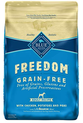 Is Blue Dog Food Grain Free?