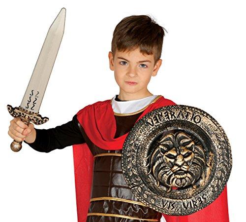Guirca Fiestas GUI18705 Plaque avec épée pour Enfant