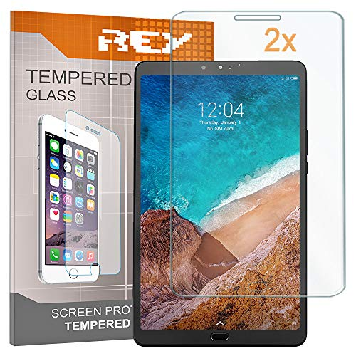 Pack 2x Pellicola salvaschermo per XIAOMI MI PAD 4 PLUS, Pellicole salvaschermo Vetro Temperato 9H+, di qualità Premium Tablet