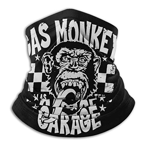 Best& Gas Monkey Garage Unisex Microfibra Cara M-ask Bandanas Multifuncional Bufanda Cuello Polaina Pasamontañas