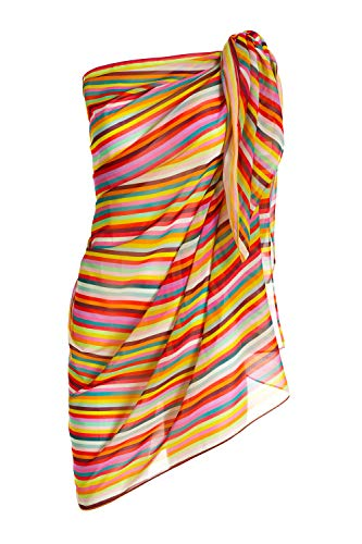 PiP Studio Alice Rainbow Stripe Pareo Größe OneSize, Farbe Multi