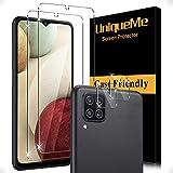 [2+2 Stück] UnqiueMe Schutzfolie für Samsung Galaxy A22