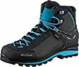 SALEWA WS Crow Gore-Tex, Stivali da Escursionismo Alti Donna, Blu (Premium Navy/Ethernal Blue 3985), 39 EU