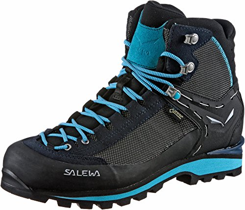 Salewa Damen WS Crow Gore-TEX Trekking- & Wanderstiefel, Premium Navy/Ethernal Blue, 40 EU
