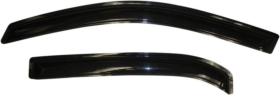 AVS Smoked Rainguards In Recommended stock Equinox Chevrolet 10