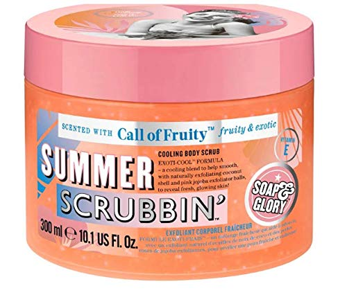 Soap & Glory Call of Fruity Summer Scrubbin Cooling Body Scrub