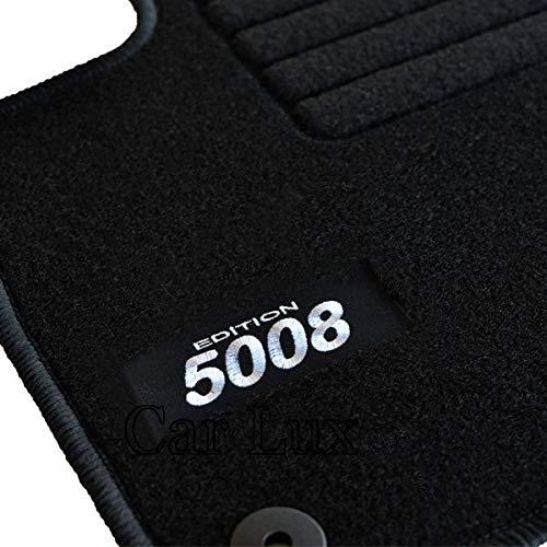 Car Lux AR05197 – Tapis de voiture sur mesure Edition velours