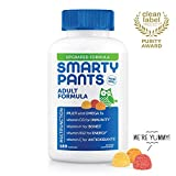 SmartyPants Adult Formula with new premium ingredients, all in one delicious serving: Beta Carotene, Vitamin B6, Vitamin K2 and Choline (Packaging May Vary) For adults, take four (4) gummies daily. May be taken with or without food. Non-GMO. Free of ...