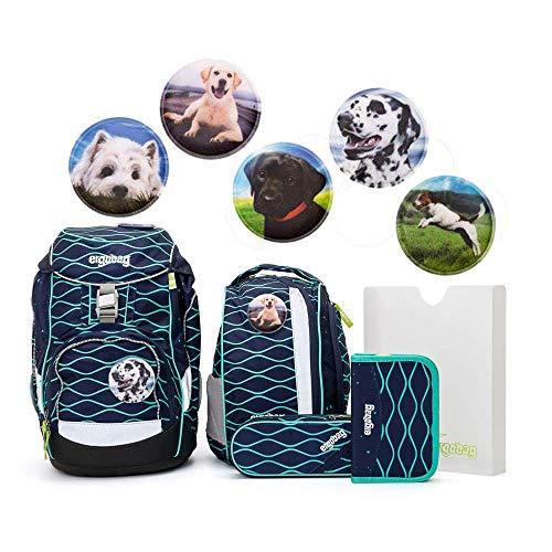 Ergobag Pack Set 6tlg TraumzauBär mit Wunschkletties Hunde