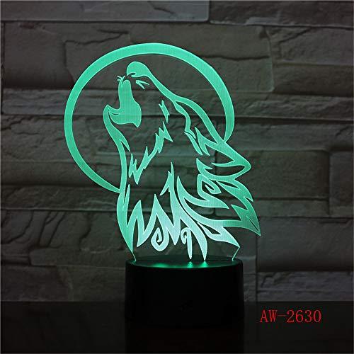 Ancient Pavilion 3D Lampe Tischlampe 7 Farben Ersatz Tischlampe 3D Lampe Neuheit führte Nachtlicht Pavillon Parlament 10 Regler