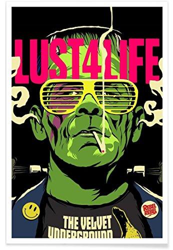Juniqe® Affiche 80x120cm Pop Art - Design Lust4Life (Format : Portrait) - Poster, Tirages d'art & Tableaux par des Artistes indépendants créé par Butcher Billy