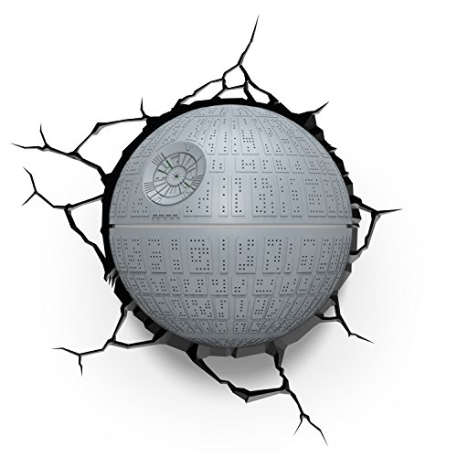 Disney Star Wars Death Star 50033 3D Deko-Leuchte, 3DLightFX Kunststoff