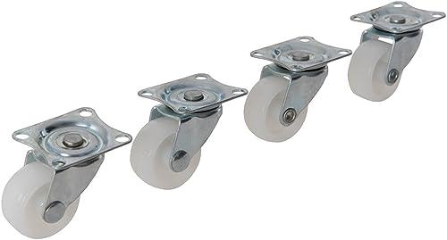 Fixman 31mm Light Duty Roulettes pivotantes (Lot de 4)