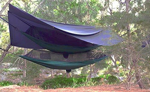 Hangmat Bliss - Blijf droog Jumbo Regenvlieg - Extra groot waterdicht Tent Tarp en Hangmat Shelter om uw Hangmat en Gear te bedekken – Enorme 98