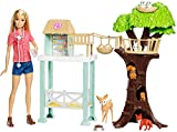 ​Barbie Doll and Animal Rescue Center with 8 Animals
