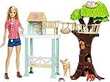 Barbie Quiero Ser Veterinaria, muñeca con su granja y accesorios (Mattel FCP78) , color/modelo surtido