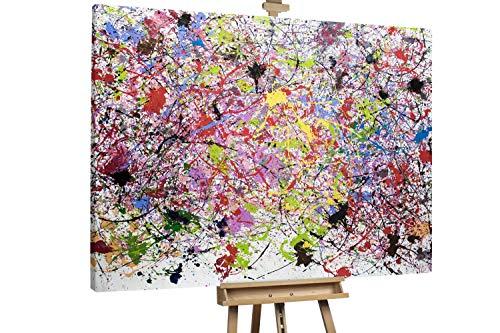 'Future in Mind' 200x150cm   Abstrakte Kunst Rot Deko   Modernes Kunst Ölbild