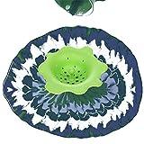 Hinter Ausgießsieb, Acryl, Silikon, Blumen-Abflusssieb zum Ausgießen von Acrylfarbe und Erstellen von einzigartigen Mustern und Designs, auch als Spüle Wasserfilter/Küchenspüle Abfluss 4 Stück - 2