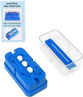 Diamerd Multiple Pill Cutter Crusher Splitter for Small or Large Big Pills 1/4 Round or Oblong Pills