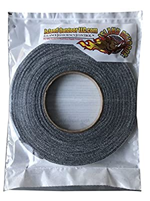 LavaLock Self Stick BBQ Gasket Grey High Temp Smoker Gasket Charcoal Grill Seal - Factory Shorts (10 ft x 1/8 x 1/2w Self Stick, Grey High Temp)