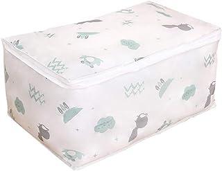Aqiong CGS2 Sac de rangement pliable pour vêtements, couverture, sac de rangement résistant à l'humidité, Polyester, bleu,...