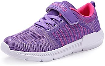 Vivay Kid's Sneakers Boys Girls Tennis Shoes Lightweight Running Sports Shoes (Purple,11 Little Kid)
