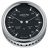 Wempe Edelstahl Comfortmeter Pilot III - Ø 100 mm
