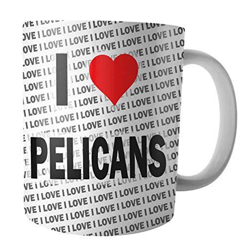 Ik hou van Pelikanen - Thee - Koffie - Mok - Beker - Verjaardag - Kerstmis - Gift