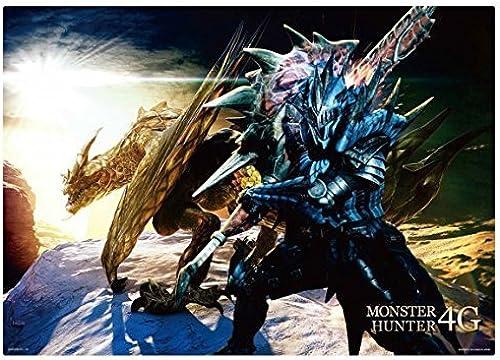 precios razonables La mayoria de loteria Monster Hunter Premio 4G 4G 4G H estera visual Seruregiosu y Hunter separado  bienvenido a elegir