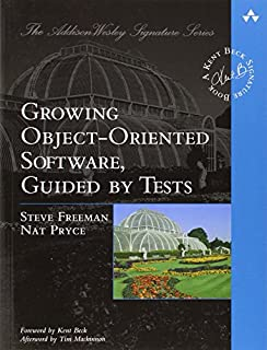Growing Object-Oriented Software, Guided by Tests (Beck Signature) (0321503627) | Amazon price tracker / tracking, Amazon price history charts, Amazon price watches, Amazon price drop alerts